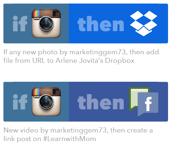 ifttt recipes.2 PNG